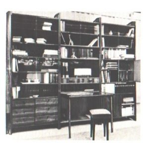 "Набор мебели ""Библиотека"", артикул ""Милков"""